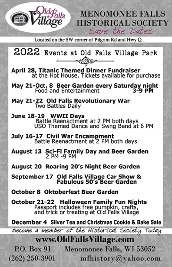 Menomonee Falls Halloween 2020 MF Historical Society   Events